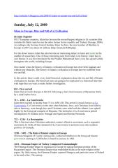 Sejarah Islam Eropa, Irfan.doc