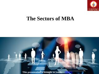 The Sectors of MBA.pptx