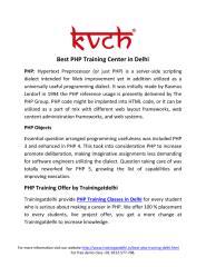 Best PHP Training Center in Delhi.pdf