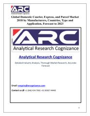 Global Domestic Courier, Express, and Parcel Market.pdf